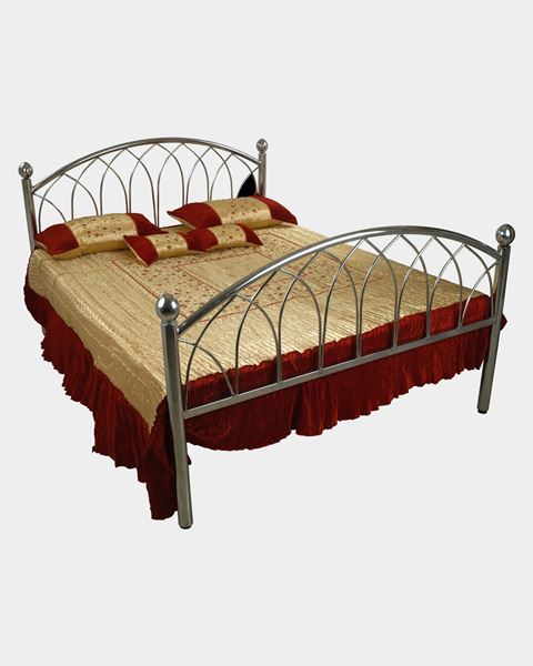 Picture of Stainless Steel King Bed