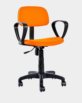 Picture of Revolving Office Workstation Chair Orange