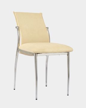Picture of Fabric Restaurant Chairs Ivory