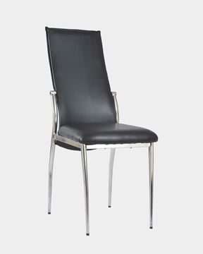 Picture of Fabric Restaurant Chairs Black