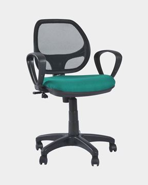 Picture of Mesh Staff Chair (Black&Blue Diamond)