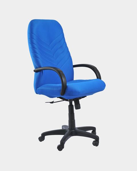 Executive High Back Office Chair Blue Online Furniture