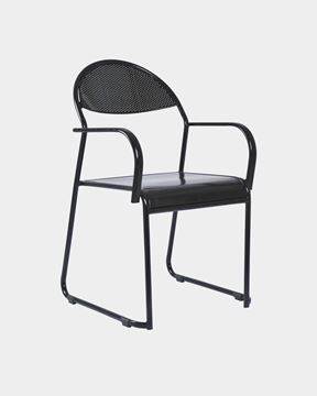 Picture of School Steel Chair with Armrests