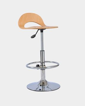Picture of Adjustable Wooden Counter chair