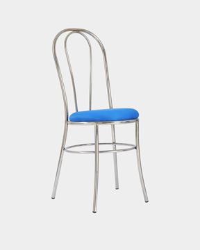 Picture of Metal Restaurant/Cafe Chair (Blue)