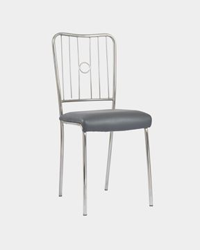 Picture of Metal Restaurant/Cafe Chair (Black)