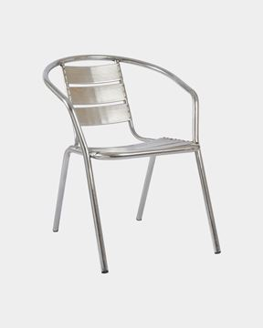 Picture of Stainless Steel Ladder Back Chair