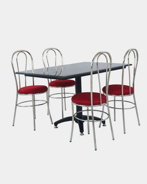 Picture of Restaurant Dining Chair And Granite Table Set