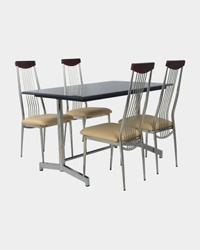 Picture of Restaurant Dining Top Wood Chair And Granite Table Set