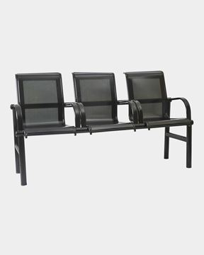 Picture of Three Seater Visitor Steel Bench