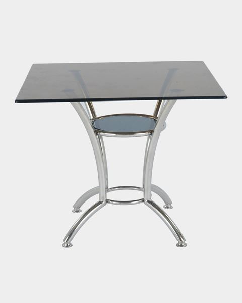 Picture of Square Glass Coffee Table