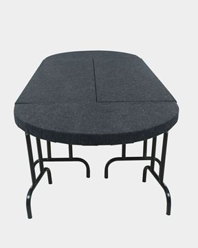 Picture of Jute Mats Banquet Table Folding Type (Black)