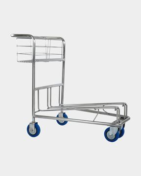 Picture of Airport Baggage Trolley Stainless Steel