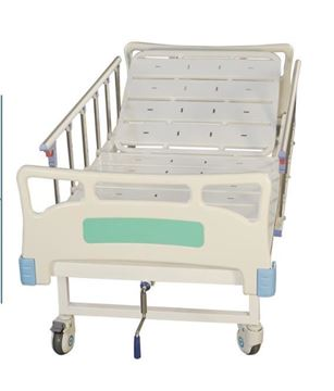 Picture of Hospital Bed with wheel