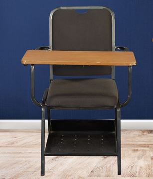 Picture of Study Chair with Cushion & Writing Pad