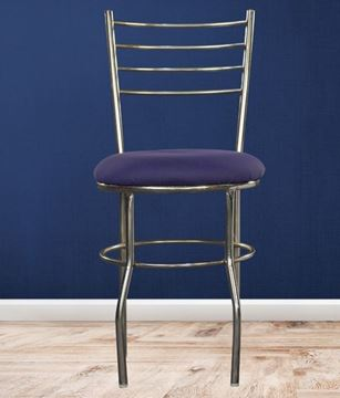 Picture of Stainless Steel Visitor Chair with cushion