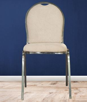 Picture of Stainless Steel Chair with cushion