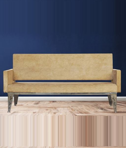 Picture of Three seater sofa with steel frame