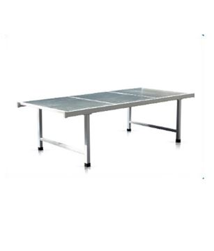 Picture of Powder Coated Flat Medical Hospital Bed