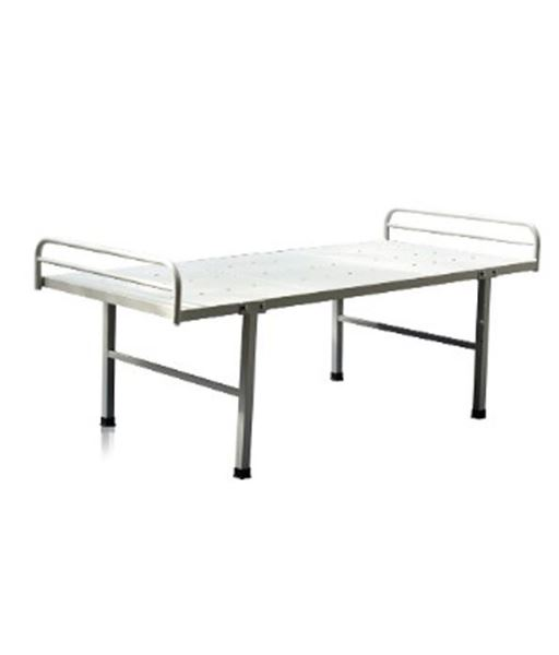 Picture of Powder Coated Medical Hospital Bed with head & leg rest